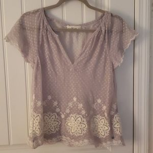 Abercrombie and Fitch lace shirt